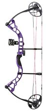 New Diamond Archery Prism Compound Bow Package 5-55# RH Purple A12708