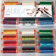 AURIFIL Classic Collection 50wt Cotton Threads 12 Pack AC50CL12