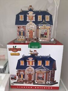 Lemax Ceramic Coventry Cove TACK SHOP  Lighted Building 2011