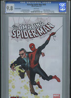 amazing spider-man 638 fan expo variant cover cgc 9.8