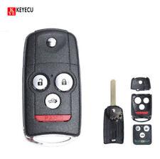 Flip 4BTN Remote Key Fob for Acura MDX RDX 2007-2012 FCC:N5F0602A1A 35111-ST-316