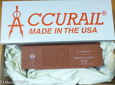 Accurail Ho #3639.9 (Rd #67384) Pennsylvania 40' Dbl. Door Aar Boxcar (Kit Form)