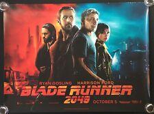 Blade Runner 2046 Original Quad Movie Poster Harrison Ford Ryan Gosling 2017