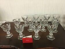 Verre à Eau Service Harcourt en cristal de Baccarat (16 disponible)