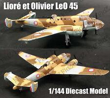 France Lioré et Olivier LeO 45 medium bomber 1/144 plane diecast model