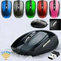 2.4GHz_Wireless Cordless Mouse Mice Optical Scroll For PC Laptop Computer w/USB