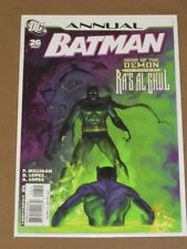 BATMAN ANNUAL #26 VF/NM ORIGIN OF RA'S AL GHUL HEAD OF THE DEMON PETER MILLIGAN