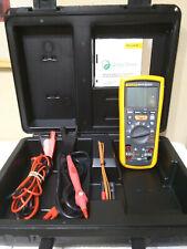 Fluke 1587 Digital Insulation Multimeter Kit - 1000V MINT