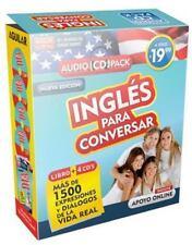 Ingles para Conversar (Libro/4CD) by Aguilar Aguilar (2014, CD / Paperback)