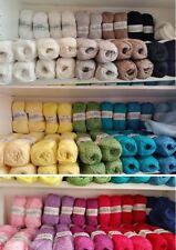 Lanas e hilos de algodón