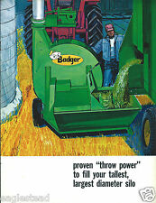 Farm Equipment Brochure - Badger - BN-98 - Forage Blower - Silo Filling (F4166)