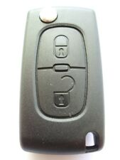 Replacement 2 button flip key case for Citroen C2 C3 Berlingo remote key
