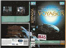 STAR TREK VOYAGER - TRADIMENTO A BORDO/EROI E DEMONI (1997) vhs ex noleggio