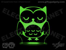 Dream Light Owl LED Nightlight, Remote Controlled, Colour Changing, Sleep Timer