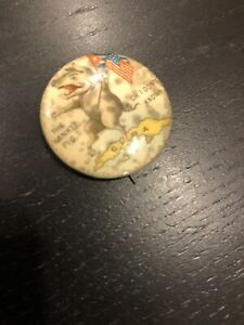Whitehead And Hoag Spanish American War Pin