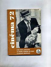 CINÈMA 72-Le Guide Du Spectateur N. 169#Federation Francaise des Cinè Clubs 1972