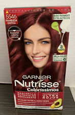 New Garnier Nutrisse Nourishing Hair Color Creme (Exotic Raspberry)