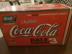 Revell Dale Earnhardt #3 Coke 1998 Chevrolet Monte Carlo Coca-Cola 1:24 NIB