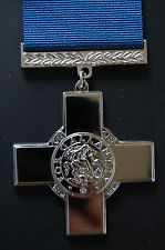 SILVER GEORGE CROSS, ( A STUNNING MEDAL),