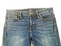 "a.n.a."" A New Approach"" Womens Premium Skinny Dark Wash Blue Jeans Size 29/8"