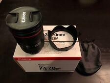 Canon EF 24-70mm f/2.8L II USM Standard Zoom Lens 5175B002