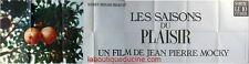 LES SAISONS DU PLAISIR Affiche Cinéma / Movie Poster Jean Pierre Mocky