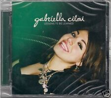 CD Gabriella Cilmi `Lessons to be learned` Neu/New/OVP