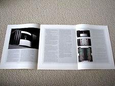 MAKE OFFER - Mark Levinson 331 / 332 / 333 power amplifier brochure
