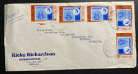 1977 Gibraltar Airmail Commercial Cover To Melbourne Australia