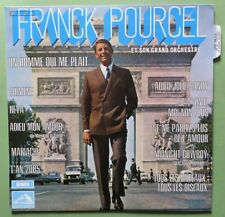 LP FRANCK POURCEL - AMOUR DANSE ET VIOLONS -DECCA - GAINSBOURG - PARIS COVER CAR