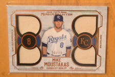 MIke Moustakas 2015 Topps Museum Collection Quad Jersey Relic Card #D 50/75