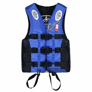 Ski Buoyancy Aid Kayak Sailing Boating Life Jackets Watersport Vest Adults Kids