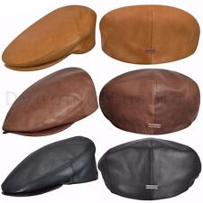 Men s Leather Flat Caps  9ecb4d142cbd