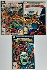 Marvel Super Hero Contest of Champions 1-3 Marvel Comics 1982 Limited Series