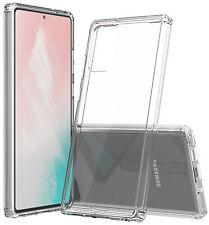 AquaFlex Transparent Anti-Shock Clear Case Slim Cover for Samsung Galaxy Note 20
