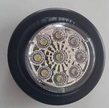 """Lucidity 2"""" Round marker light WHITE, 12-24 Volt,Truck,Trailer,Ute,Bus,Caravan"""