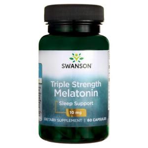 MELATONINA 10 mg 60 capsulas DORMIR MAS Y MEJOR  ALTA POTENCIA  ALTA CALIDAD