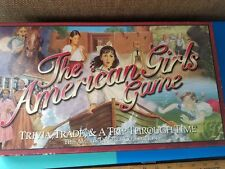 The American Girls Game Trivia Board Kids Family  COMPLETE 1999