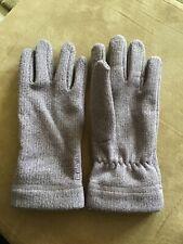 Rohan Ladies fleece gloves purple / mauve Used