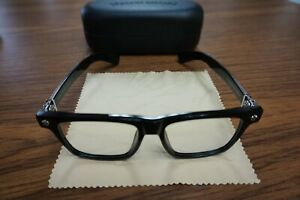 CHROME HEARTS Box Lunch-A Black Eyeglasses Comes With box