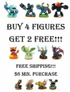 Skylanders Giants Figures Buy 4 Get 2 Free - $6 Minimum Purchase - Free Shipping