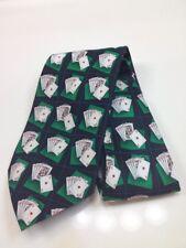 Tango Deck/Play Cards Design Men's Necktie Silk Neck New RARE