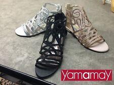 scarpe sandali gioelli Yamamay eleganti Bianco Nero beige35-36-37-38-39-40-41
