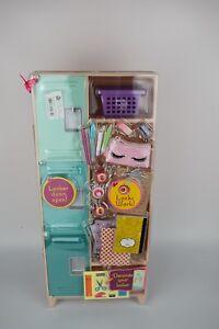 Shopkins Real Littles Locker! Decorate your locker doors open!