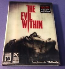 The Evil Within [ Launch Bonus Edition ] (PC / DVD-ROM) NEW