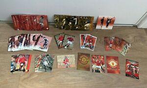 Manchester United Football Card Bundle- x71 Cards- Futera/ Upper Deck- Rookies