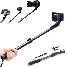 Extendable Selfie Stick Monopod With Bluetooth Remote Shutter For iPhone Samsung
