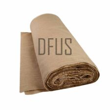 "5 metre roll x 72"" wide, 12oz jute hessian cloth. upholstery hessian fabric"