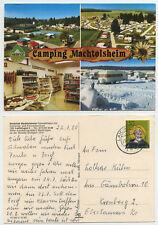 49103 - Laichingen - Camping Machtolsheim - Ansichtskarte, gelaufen 23.7.1980