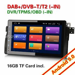 "9"" Android 9.0 Autorradios GPS Radio TDT BMW 3 Series E46 320 M3 MG ZT Rover 75"